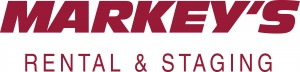 Markey's Rental & Staging - Logo